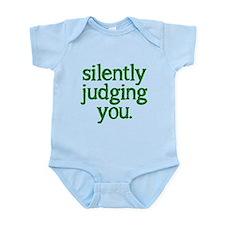 Silently judging you Onesie