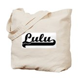 Black jersey: Lulu Tote Bag