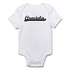 Black jersey: Graciela Infant Bodysuit