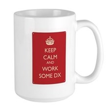 Keep Calm And Work Some CW Mug