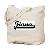 Black jersey: Fiona Tote Bag