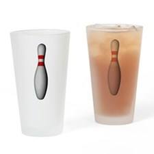 Bowling Pin Drinking Glass