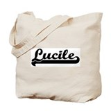 Black jersey: Lucile Tote Bag