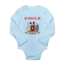 Chile Coat of arms Onesie Romper Suit