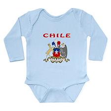 Chile Coat of arms Onesie Romper Suit