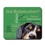 Got Entlebucher? Woof Cloud Mousepad