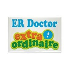 ER Doctor Extraordinaire Rectangle Magnet (10 pack