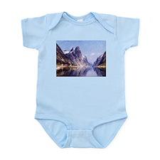 A Norwegian Fjord Scene Infant Bodysuit