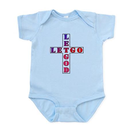 Let Go, Let God Infant Bodysuit