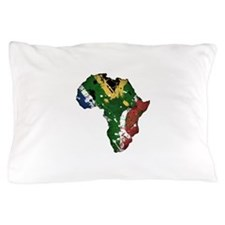 Afrika Graffiti Pillow Case