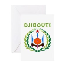 Djibouti Coat of arms Greeting Card