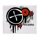 Geocaching Vector Design Throw Blanket