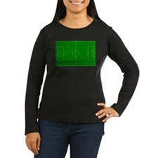 Green Soccer Field T-Shirt