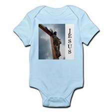 Jesus on the Cross Infant Bodysuit