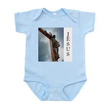Jesus on the Cross Onesie