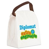 Diplomat Extraordinaire Canvas Lunch Bag