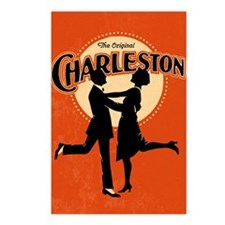 Vintage Charleston Music Art Postcards (Package of