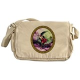 Father Time with Scythe Messenger Bag