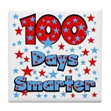 100 Days Smarter Tile Coaster