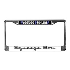 Squeeze Box License Plate Frame