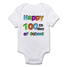 Happy 100th Day of School Infant Bodysuit