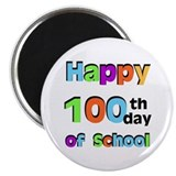 Happy 100th Day of School 2.25&quot; Magnet (10 pack)