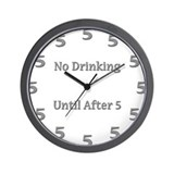 Cute Alcohol booze beer drink drinking Wall Clock