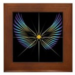 Wings Framed Tile