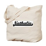 Black jersey: Nathalie Tote Bag