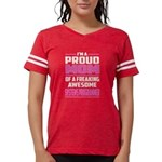 Puck Podcast Logo Womens Burnout Tee