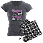Puck Podcast Logo Women's Long Sleeve T-Shirt