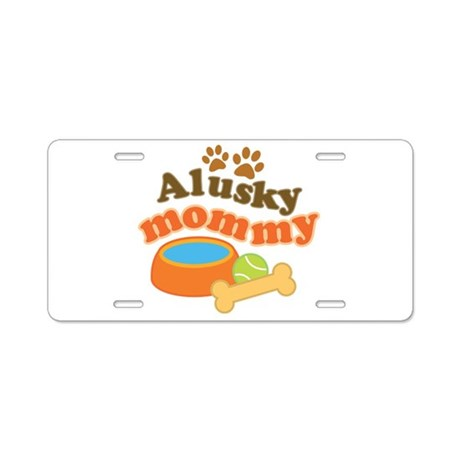 Alusky Mommy Aluminum License Plate