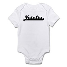 Black jersey: Natalia Infant Bodysuit