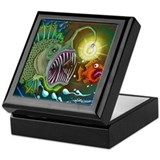 Angler Fish Keepsake Box