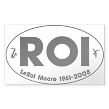 Roi Oval Decal