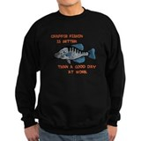 Crappie fishing Sweatshirt