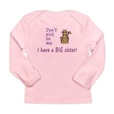 Dont Pick Little Sister Tigress Long Sleeve Infant