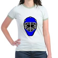 Blue Goalie Mask T