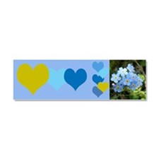 Forget-Me-Not Car Magnet 10 x 3