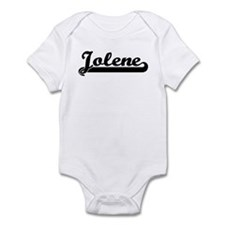 Black jersey: Jolene Infant Bodysuit