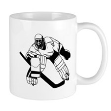 Ice Hockey Goalie Small Mug