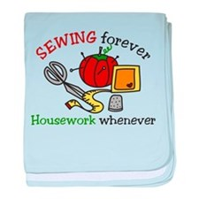 Sewing Forever baby blanket