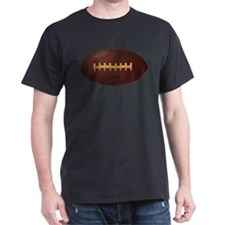 Brown Retro Football T-Shirt