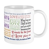 Shakespeare on Love Small Mug