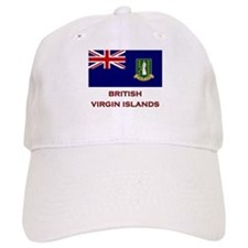 The British Virgin Islands Flag Merchandise Baseball Cap