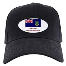 The British Virgin Islands Flag Merchandise Baseball Hat