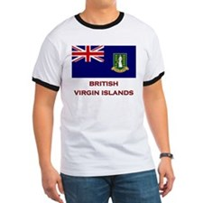 The British Virgin Islands Flag Merchandise T