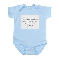 Football Goddess Definition Infant Bodysuit