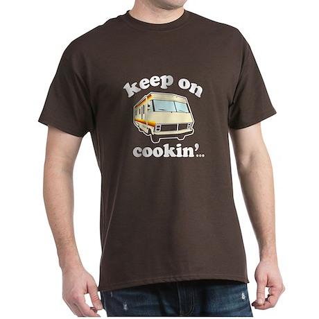 Funny! Keep On Cookin Dark T-Shirt
