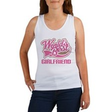 Worlds Best Girlfriend Women's Tank Top